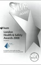 BAM Silver Award for H&S 2008